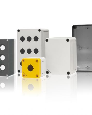 Thermoplastic Push-Button Boxes, Enclosures